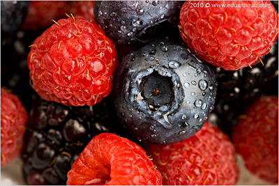 Food - berry mix
