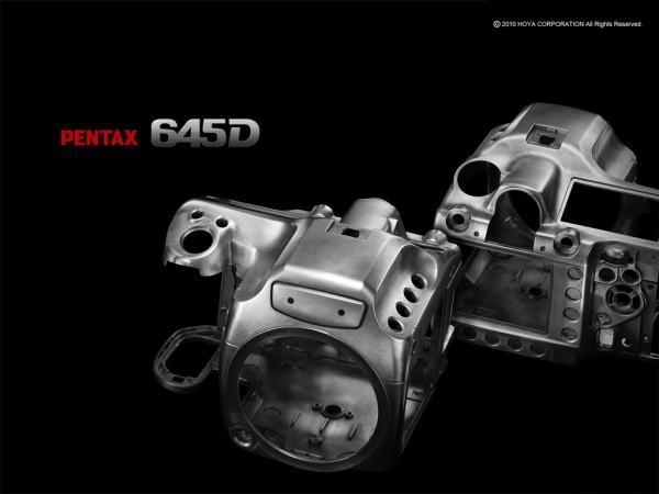 Pentax 645D - body