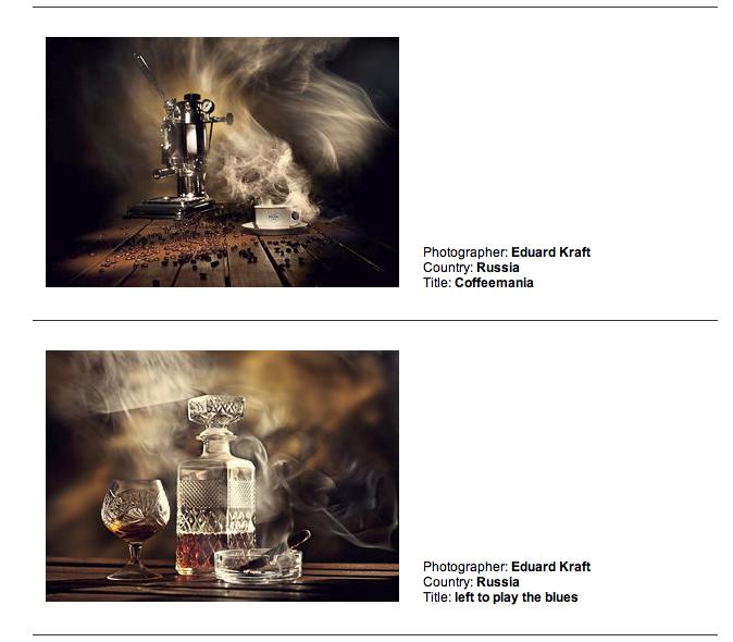 Фотографии номинации Still Life