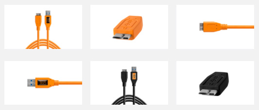 USB шнуры для фотосъемки в компьютер