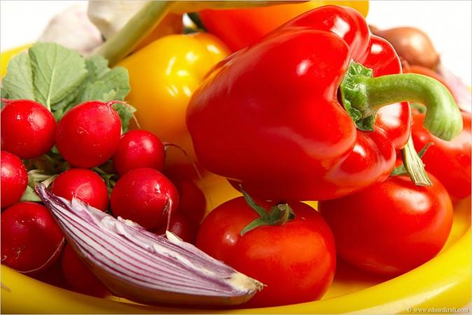 Подготовка продуктов питания к фотосъемке